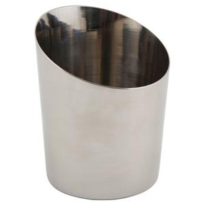 Stainless Steel Angled Cone 11.6 x 9.5cm