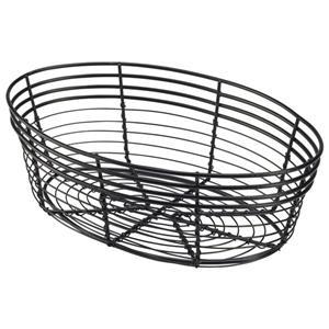 Oval Wire Basket 25.5 x 16 x 8cm