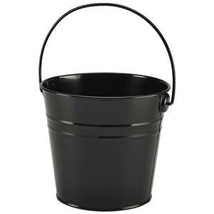 Stainless Steel Black Serving Bucket 16cm