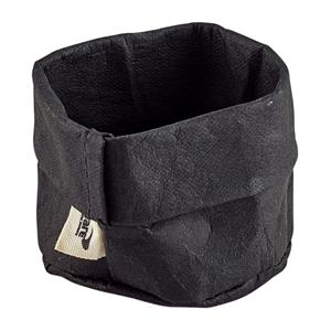 Black Washable Paper Bag 7cm x 6cm
