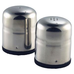 Stainless Steel Mini-Jumbo Condiment Salt & Pepper 4.5 x 5cm