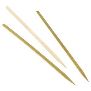 Bamboo Flat Skewers 8.25inch / 21cm (100pcs)