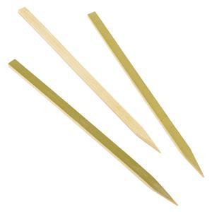 Bamboo Flat Skewers 6inch / 15cm (100pcs)