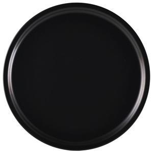 Luna Black Stoneware Pizza Plate 33cm