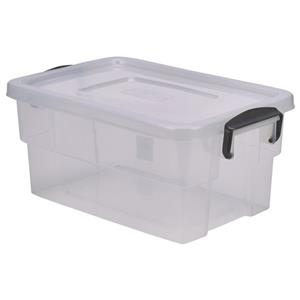 Storage Box with Clip Handles 13ltr