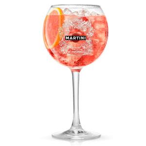 Martini Rose Balloon Glasses 14oz / 400ml
