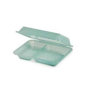 Eco-Takeouts 2 Compartment Container 10 x 8inch
