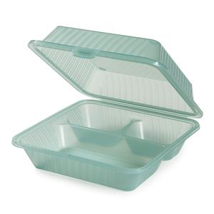 Eco-Takeouts 3 Compartment Deep Container 9inch