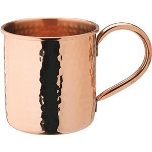 Copper Hammered Mug 18oz / 510ml