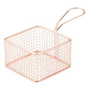 Copper Square Service Basket 3.75inch / 9.5cm