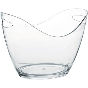 Large Champagne Bucket Clear 13.75inch / 35cm