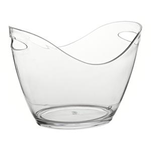 Small Champagne Bucket Clear 10.5inch / 27cm