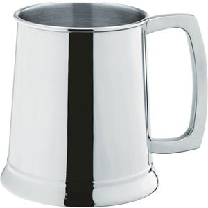 Stainless Steel Handled Tankard CE 20oz / 580ml
