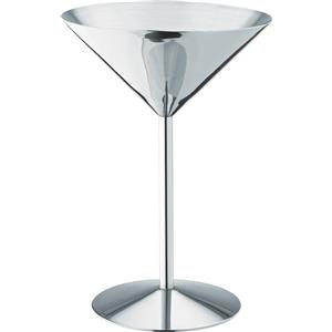 Stainless Steel Martini Glasses 8.5oz / 240ml