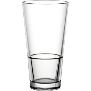 Diamond Plastic Polycarbonate Venture Stacking Pint Glasses CE 20oz / 570ml