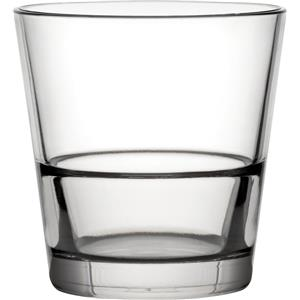 Diamond Plastic Polycarbonate Venture Stacking Double Old Fashioned Glasses 12oz / 350ml