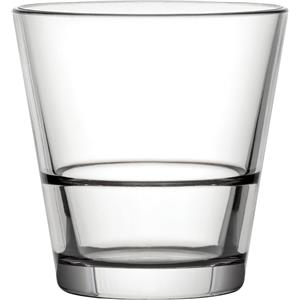 Diamond Plastic Polycarbonate Venture Stacking Double Old Fashioned Glasses 9oz / 260ml