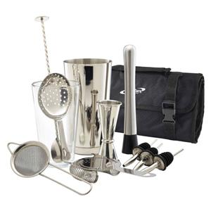 Genware 12 Piece Cocktail Bar Kit