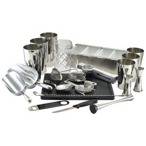Genware 22 Piece Cocktail Bar Kit