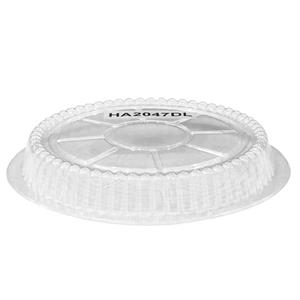 Dome Lids for Round Foil Containers 7inch