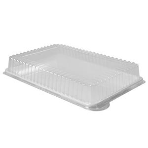 Dome Lids for Re-usable Hard Catering Platters 18inch x 12inch