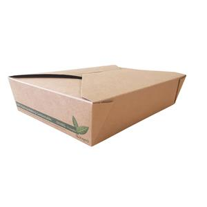DispoPak No 2 Kraft Compostable Food Box
