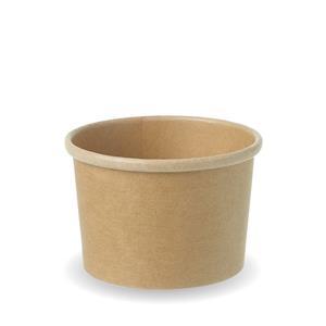 Kraft Compostable Soup Pot 8oz / 230ml