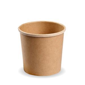 PLA Kraft PLA Soup Container 16oz / 450ml