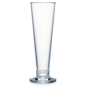 Strahl Design + Contemporary Polycarbonate Footed Pilsner Glass 16oz / 473ml