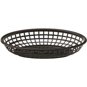 Black Oval Basket 9inch / 23cm