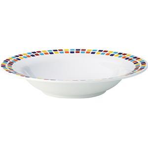 Kingline Spanish Tile Pasta Bowl 7.75inch / 19.5cm
