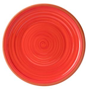 Calypso Red Plate 14inch / 35.5cm