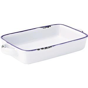 Avebury Blue Small Rectangular Dish 6.75inch / 17.5cm