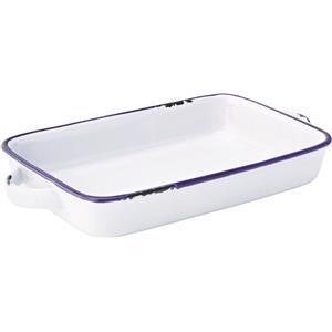 Avebury Blue Large Rectangular Dish 8.5inch / 22cm