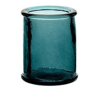 Authentico Candleholder Blue 3inch / 8cm