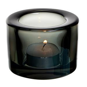 Chunky Tealight Holder Black