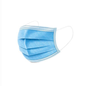 Medical Type 1 3 Ply Face Mask Blue
