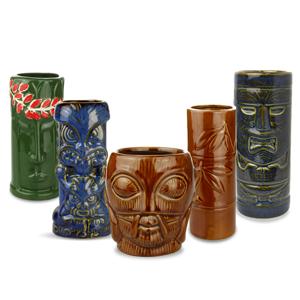 Ceramic Tropical Tiki Party Pack