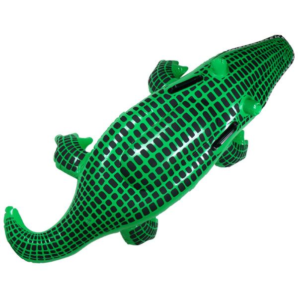 Inflatable Crocodile. Click ...