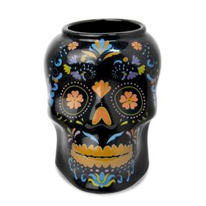 Ceramic Day of the Dead Skull Tiki Mug 19.25oz / 550ml