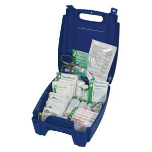 BSI Catering First Aid Kit Small Blue Box