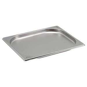 Stainless Steel Gastronorm Pan 1/2 - 2cm Deep