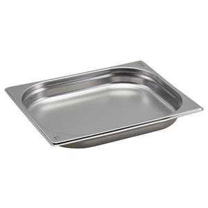 Stainless Steel Gastronorm Pan 1/2 - 4cm Deep
