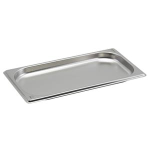 Stainless Steel Gastronorm Pan 1/3 - 2cm Deep