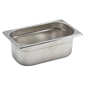 Stainless Steel Gastronorm Pan 1/4 - 10cm Deep