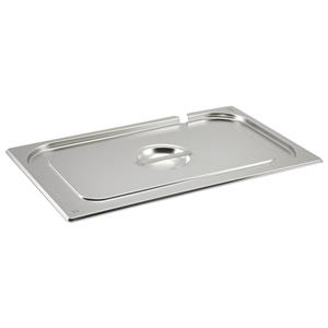 Stainless Steel Gastronorm Pan Notched Lid 1/1