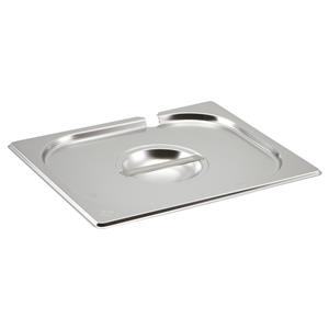 Stainless Steel Gastronorm Pan Notched Lid 1/2