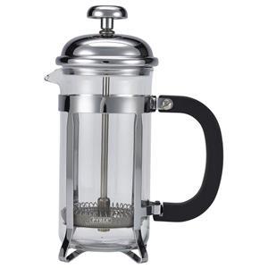 3 Cup Cafetiere Chrome Pyrex 12.5oz / 350ml
