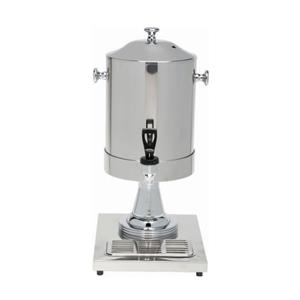 Genware Milk Dispenser With Ice Chamber 6ltr