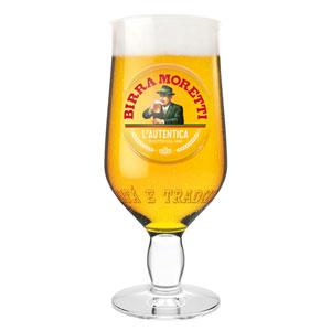 Birra Moretti Half Pint Glass 10oz / 280ml